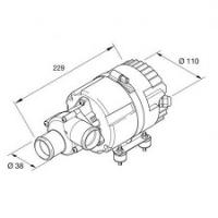 Помпа жидкостная Eberspacher Hydronic L16/L24/L30/L35 24V